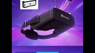 Eachine EV800DM Varifocal 5.8G 40CH Diversity FPV Goggles with HD DVR 3 Inch 900*600 Video Headset B