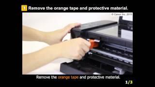 PIXMA MG3620: Setting Up the Printer