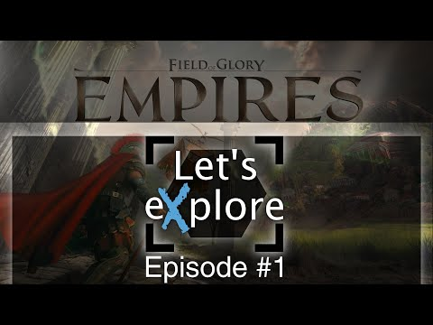Let's eXplore: Field of Glory: Empires - Persia 550 BCE - 330 BCE Preview - Egypt Ep.1