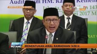 Pemerintah Tetapkan 1 Ramadan 1438 Jatuh Pada 27 Mei, Malam Ini Mulai Tarawih