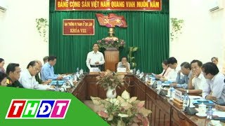 Bí thư Tỉnh ủy Đồng Tháp làm việc với Thành ủy Cao Lãnh | THDT