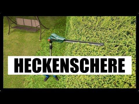 ► TELESKOP HECKENSCHERE TEST 2018 ★ Teleskop Heckenschere Elektrisch Test - Stab Heckenschere Akku