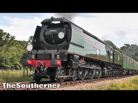 The Bluebell Railway 'End of Southern Steam' gala 7th July 2…