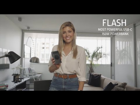 Flash: World's Most Powerful 210W USB-C Powerbank-GadgetAny