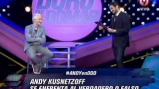 DURO DE DOMAR - VERDADERO O FALSO - ANDY KUSNETZOFF - PRIMERA PARTE 19-10-12