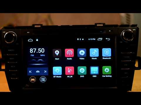 how to enter factory settings Android 7 1 Nougat Car DVD GPS Radio