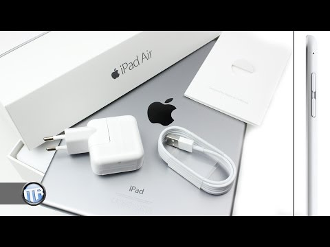 Unboxing: Apple iPad Air 2 (Spacegrau, Wifi) [Deutsch]