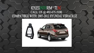How To Replace Hyundai Veracruz Key Fob Battery 2007 2008 2009 2010 2011 2012