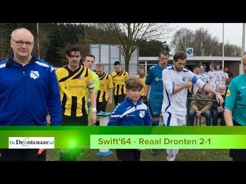 VIDEO | Swift'64 benut tegen Reaal Dronten net genoeg kansen voor de koppositie: 2-1