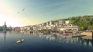 preview picture of video 'Oslo, la capitale della Norvegia'