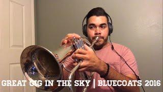 Great Gig In The Sky   Bluecoats 2016   Flugelhorn/ Trumpet Solos 🎧  Antonio Cabrera