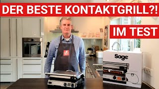 ♨️ GRILLBLITZ: Sage SGR840 Smart Grill Pro, BBQ Kontaktgrill Test Steak Burger Panini Pancake Gemüse