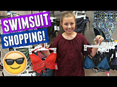 SWIM SUIT SHOPPING WITH MY MOM | TEEN SWIM SUITS