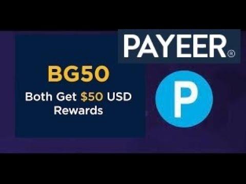 Gagner avec Payeer 10 USD minimum  par mois