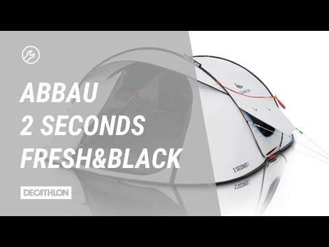Zelt 2 Seconds Easy Fresh&Black Abbau   Anleitung