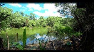 Рыбалка на реке в крыму