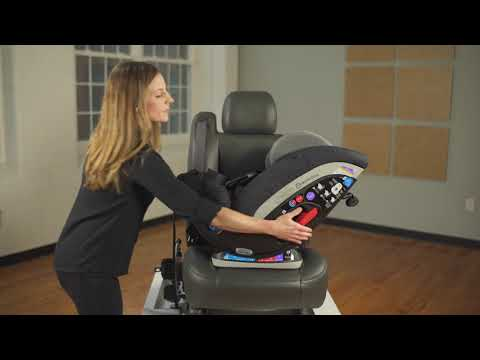 Magellan & Magellan Max Car Seat Installation: Rear-Facing Mode with Vehicle Belt