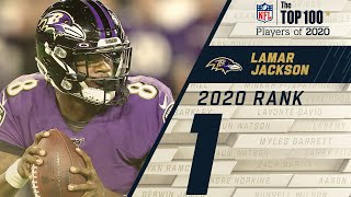 #1: Lamar Jackson (QB, Ravens) | Top 100 NFL Players of 2020