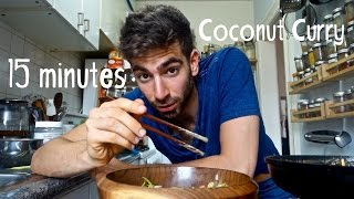 The 15 Minute Dinner Series - Veggie Coconut Curry