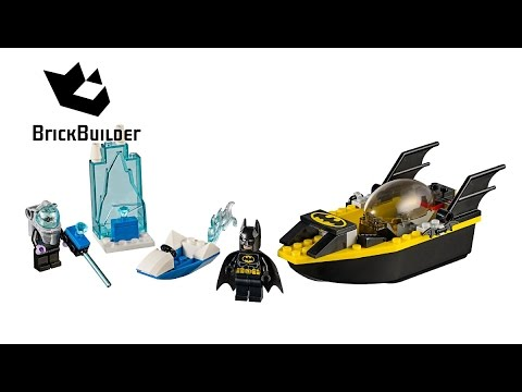 Vidéo LEGO Juniors 10737 : Batman contre Mr. Freeze