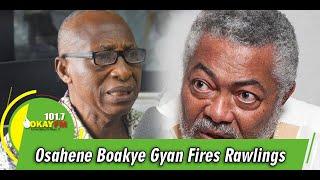 Killing Of Judges Had No Justification, Osahene Boakye Gyan Fires Rawlings