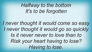 Aqualung - Halfway To The Bottom Lyrics