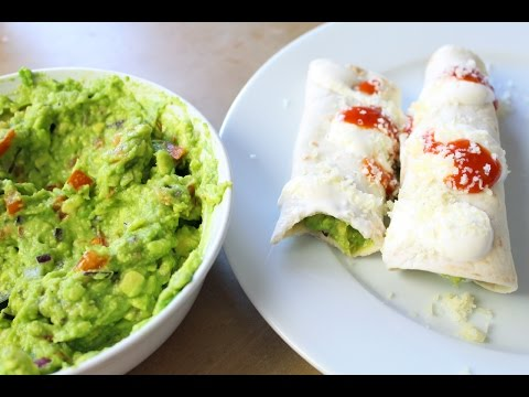 Vegetarian Recipe ❤ Enchiladas With Avocado Filling