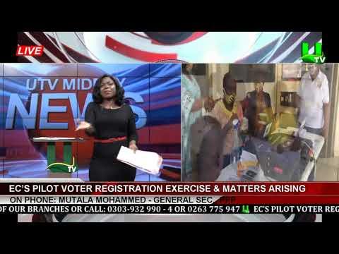EC's Pilot Voter Registration Exercise & Matters Arising