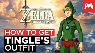 How To Get Tingle's Outfit (EX Treasure: Fairy Clothes) | Zelda Breath of the Wild Nintendo Switch