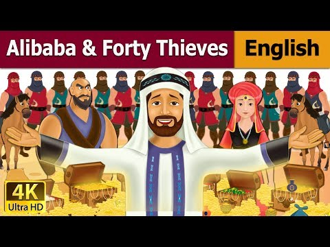 Alibaba And 40 Thieves in English | Story | English Fairy Tales