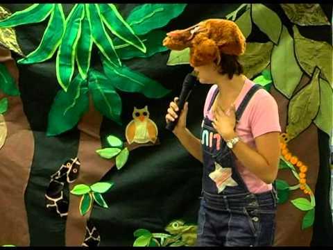 ההצגה לקוף יש בעיה בשעת סיפור בספריה