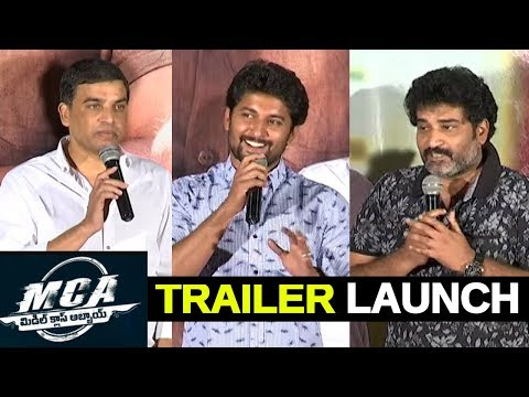 MCA – Middle Class Abbayi Theatrical Trailer Launch – Nani , Sai Pallavi