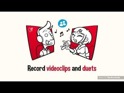 Video of Red Karaoke Sing & Record