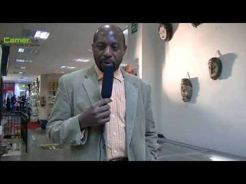 Hugues Robert Ngankam , hôte de « Afrik'art vandaag » 2018