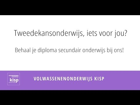 Diploma secundair onderwijs behalen?