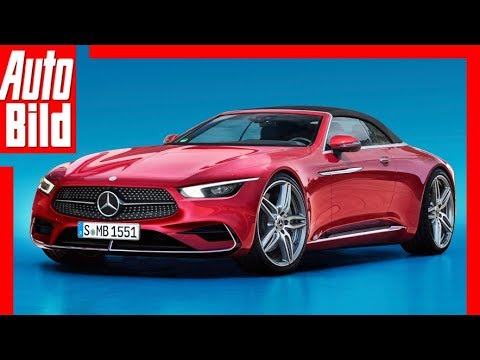 Zukunftsaussicht: Mercedes SL (2020) Details/Erklärung