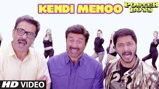 Kendi Menoo Song Lyrics | Poster Boys | Sunny Deol | Bobby Deol | Shreyas Talpade | Sonali Kulkarni