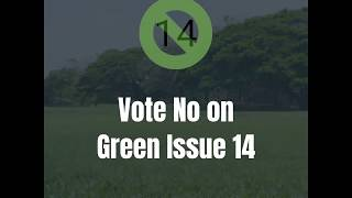 Vote No on Green Issue 14