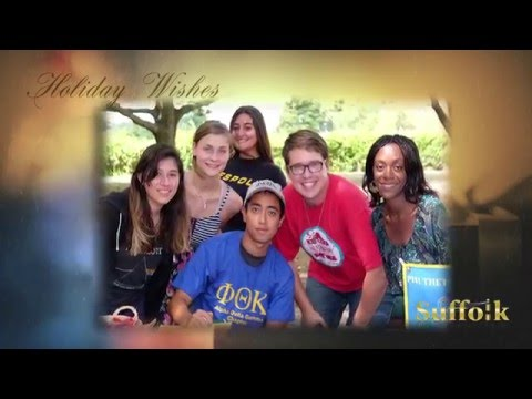 Suffolk County Community College Holiday Wishes 2015-2016