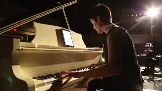 Surfing Cosmic Radio Waves by Mary Kouyoumdjian, pianist Sophia Vastek