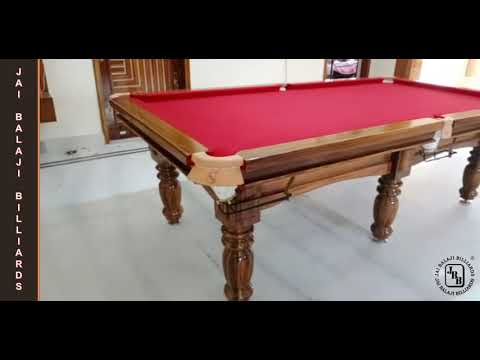 JBB Oak Design Pool Table