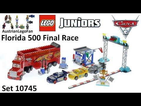 Vidéo LEGO Juniors 10745 : La finale des 500 miles de Floride