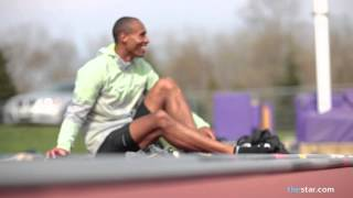 Training with Damian Warner