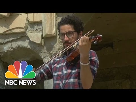 Iraqi Violinist Plays Concert In Defiance Of ISIS | NBC News
