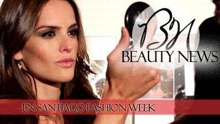 Backstage De Maquillaje   Santiago Fashion Week Día 2 Con Izabel Goulart