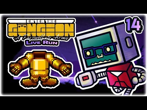 Cormorant Quest | Part 14 | Let's Play: Enter the Gungeon: A Farewell to Arms | Twitch VoD