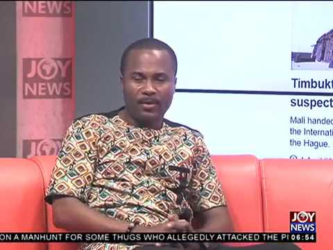 AM Show Newspaper Headlines on JoyNews (2-4-18)