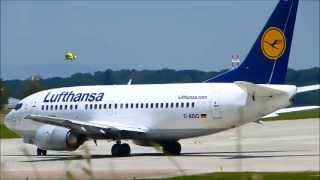 preview picture of video 'Lufthansa's Boeing 737 at Geneva Cointrin Intl Airport [GVA-LSGG]'