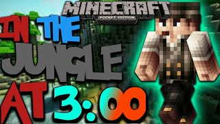 playing Minecraft PE at 3:00 AM MUST WATCH!!!