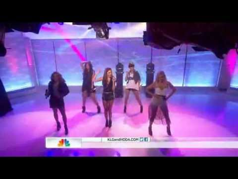 The Saturdays - What About Us - Live - Today Show